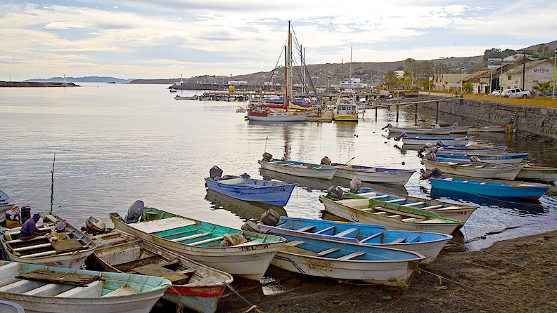FISHING BOATS AT SANTA ROSALIA