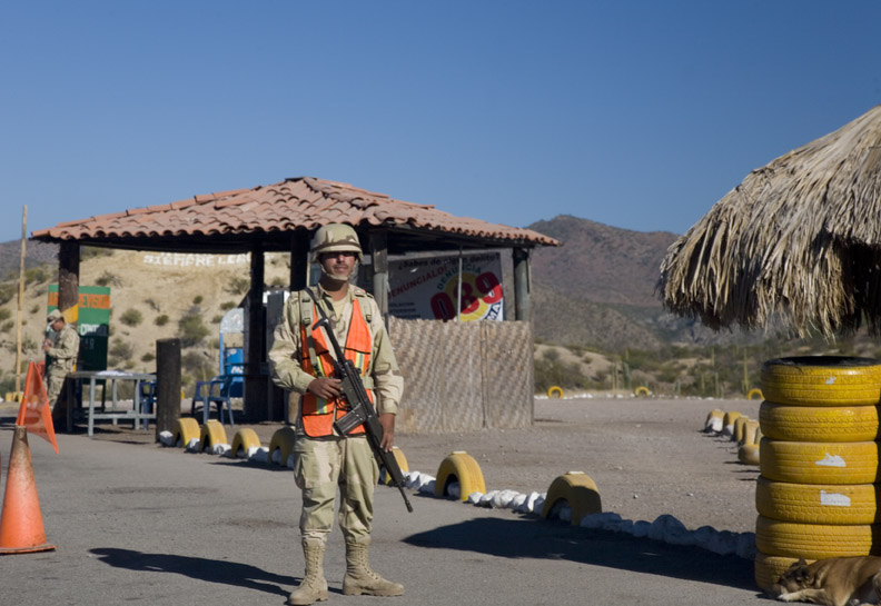 MEXICAN MILITARY GUARD