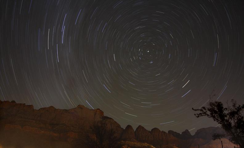 Zion Night Sky