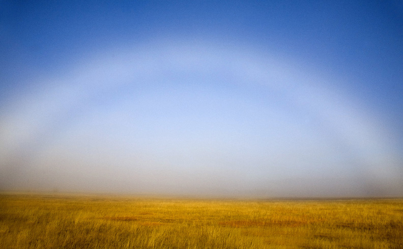 Speaking of fog, how about a fogbow.