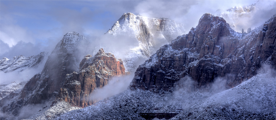 A Zion winter day.
