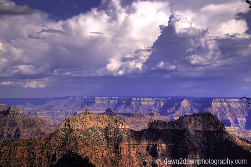 Thunderheads Over Grand Canyon