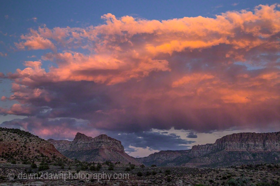 Zion Country Sunset