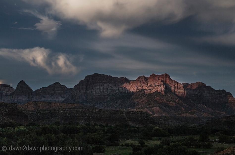 Zion Canyon Sunset_8381