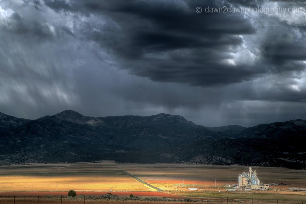 Utah Grain Silo