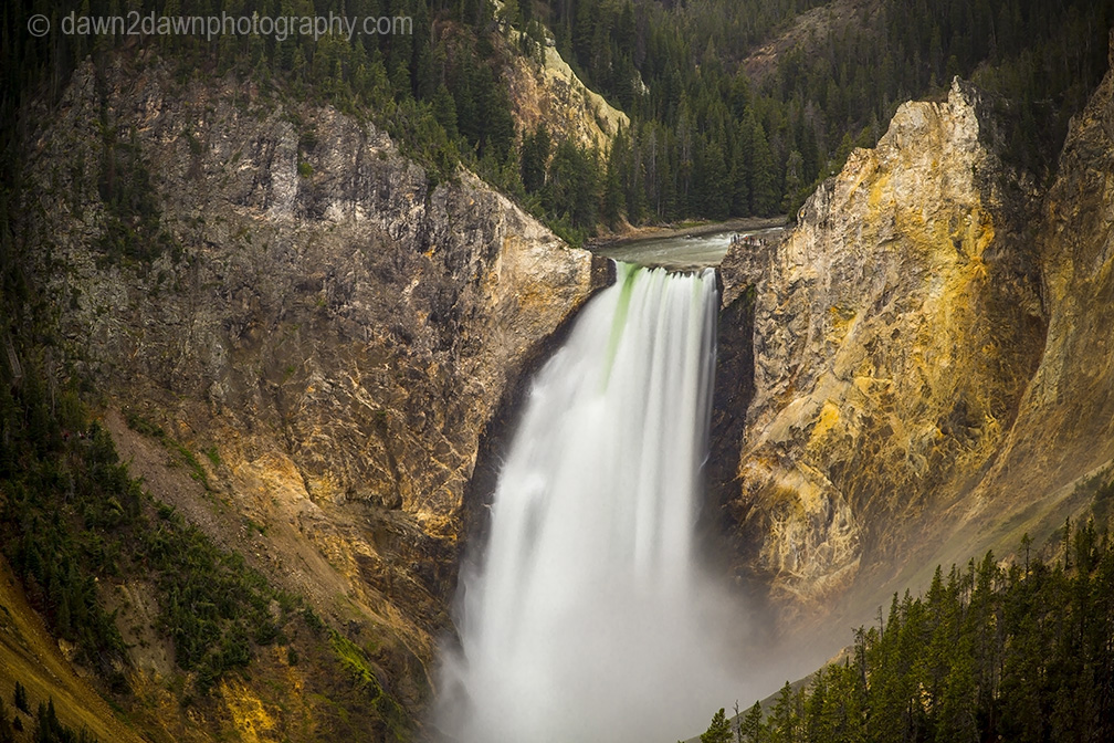 Yellowstone's Lower Falls