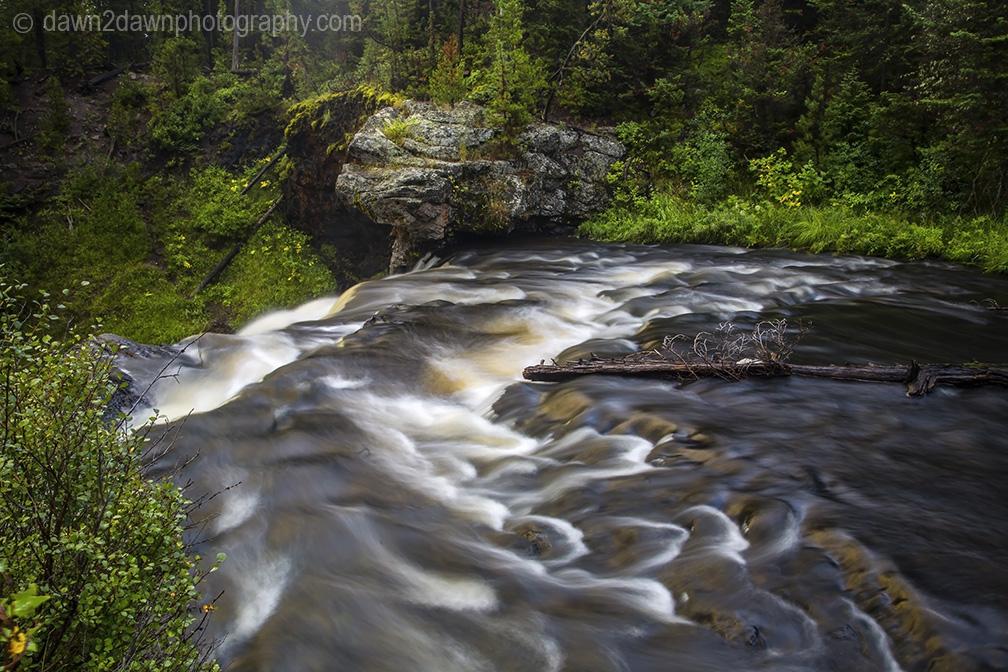 Yeloowstone's Moose Falls