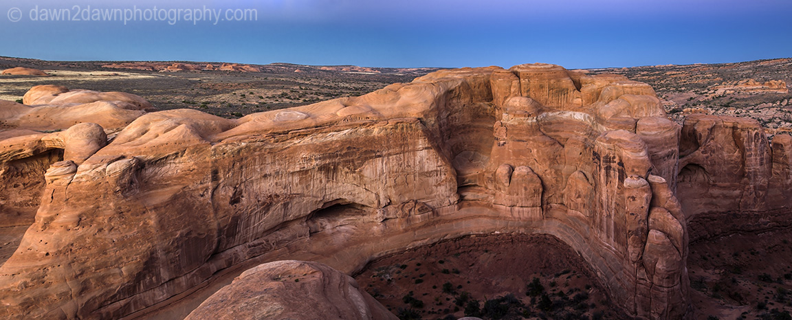 Arches Sandstone Formations