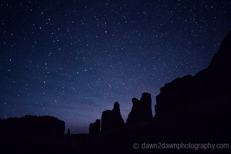 Arches Park Avenue Night
