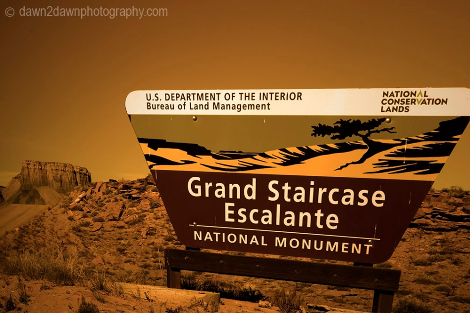 Grand Staircase Sign_5913
