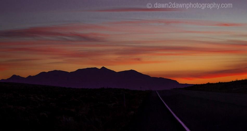 Henry Mountain Sunset
