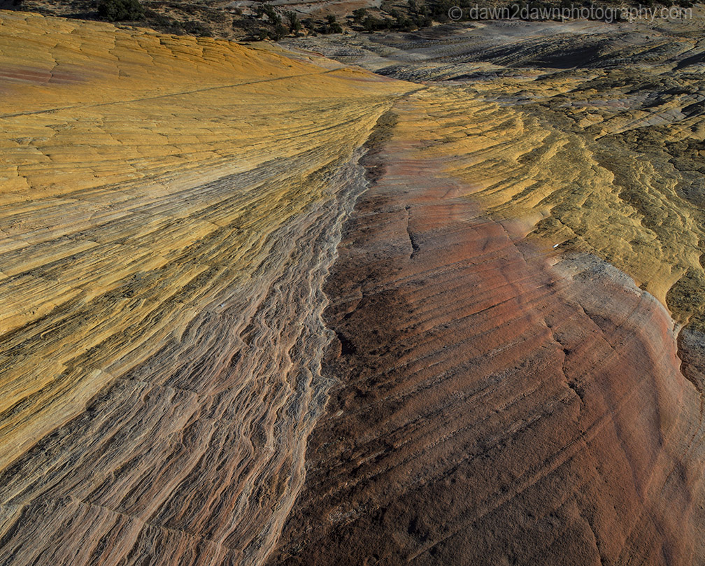 Surreal Yellow Rock Dawn2dawn Photography