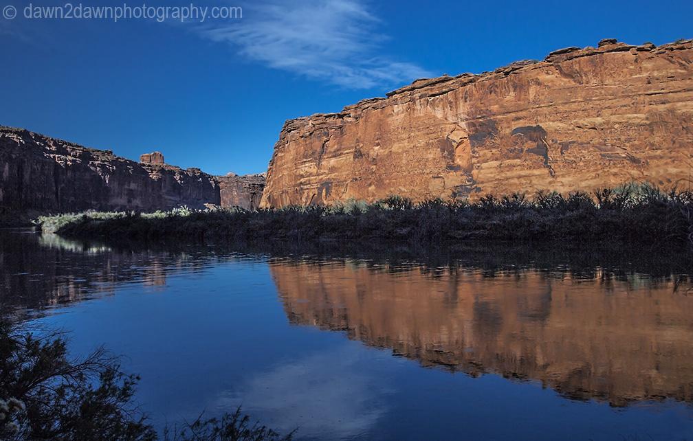 Colorado River Reflection