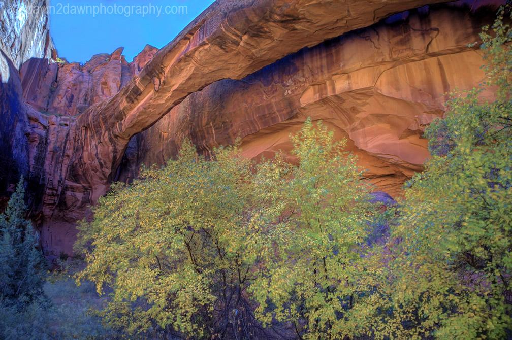 Moab Morning Glory Natural Bridge