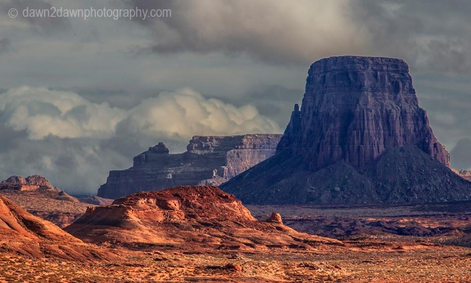 Stormy Glen Canyon