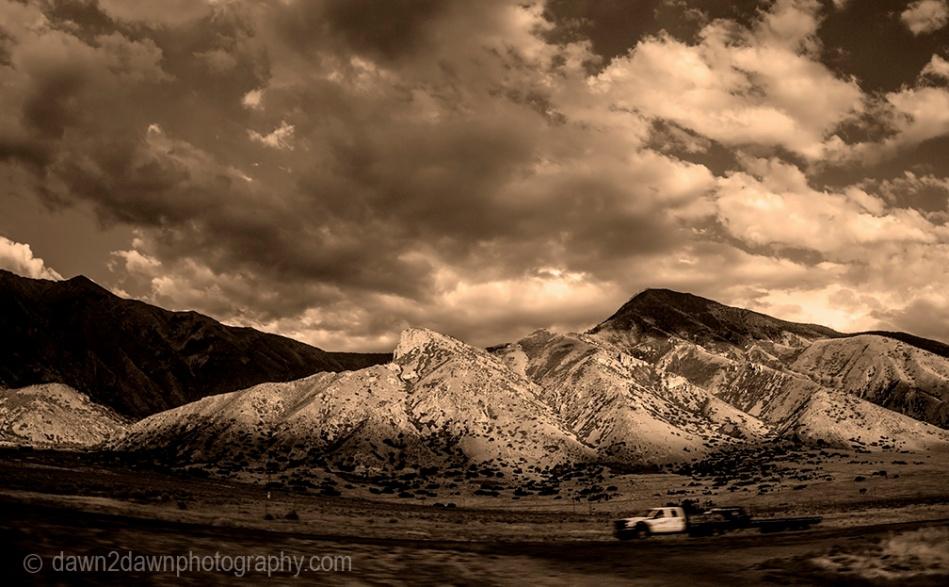 Rural Utah Highway