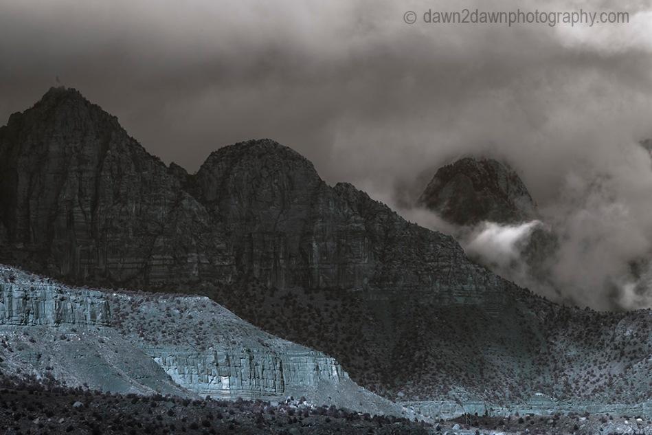 Zion Canyon Fog