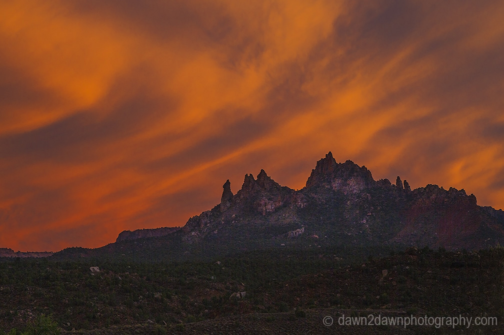Eagle Crags Sunset