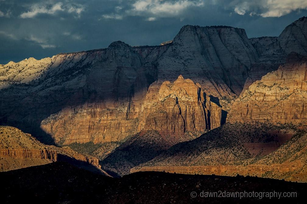 Zion Canyon Clouds