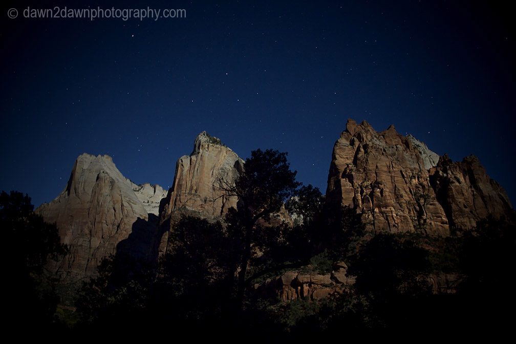 Zion Full Moon