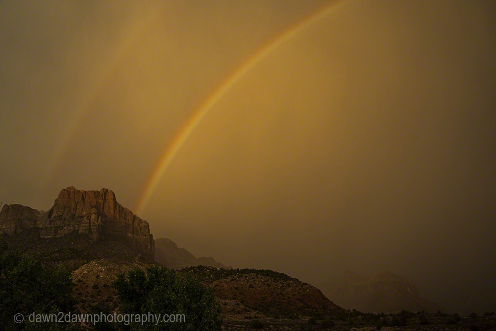 Zion Canyon Rainbow