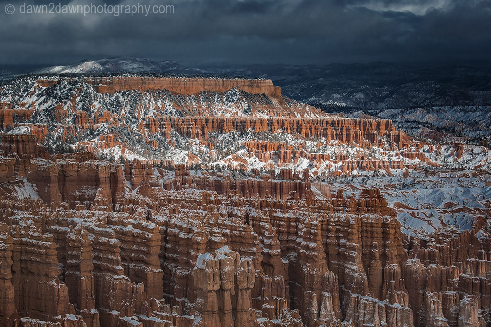 Bryce Canyon Snow
