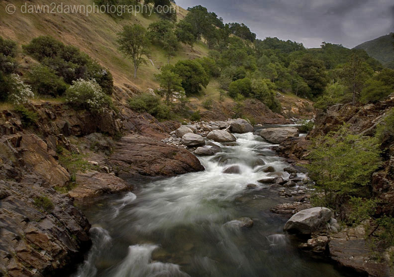 KAWEAH RIVER EARLY EVENING