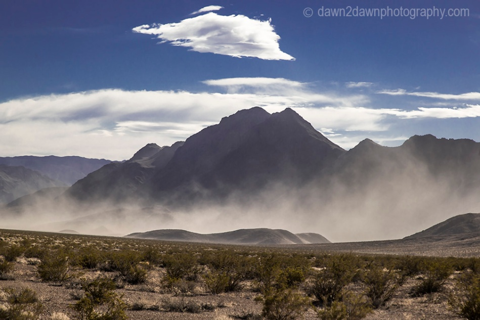 Death Valley Sandstorm