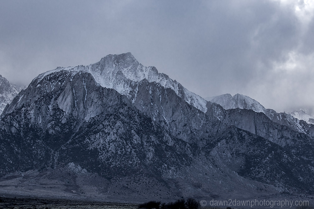 Owens Valley Lone Pine Peak