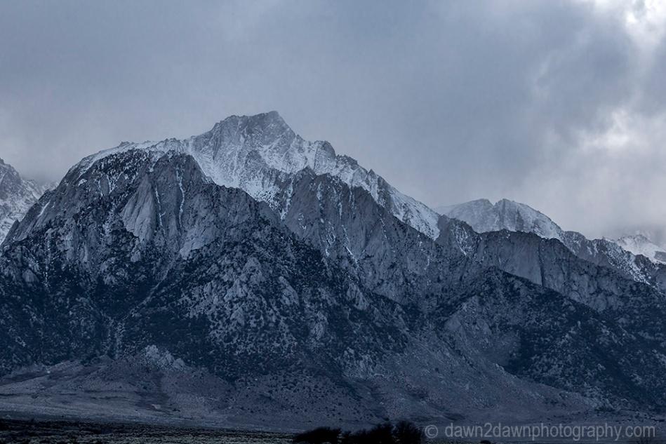 Owens Valley Lone Pine Peak