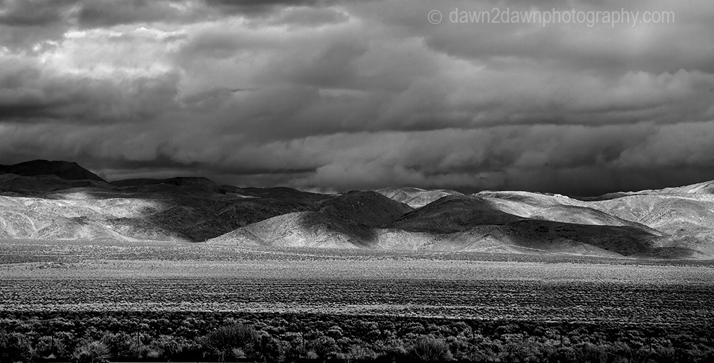 Owens Valley Storm Clouds