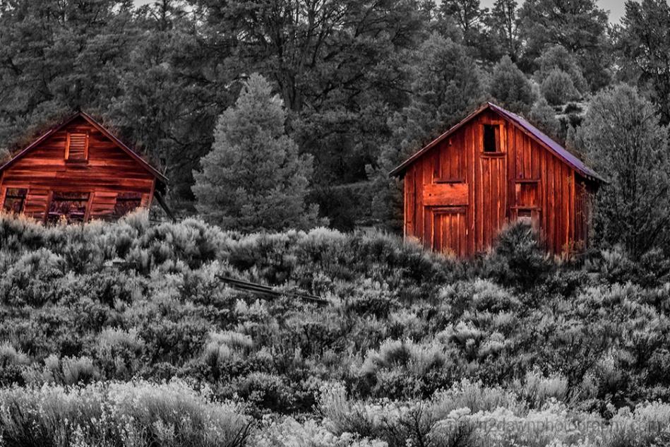 Walker Pass Barns