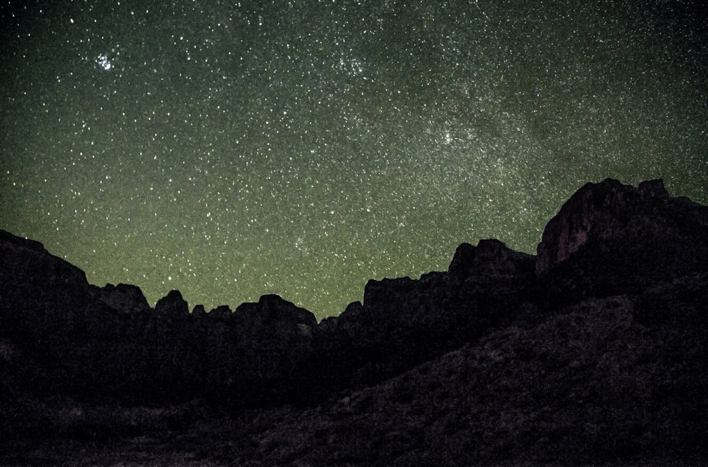 Zion Night Sky