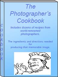 Photographer's cookbook