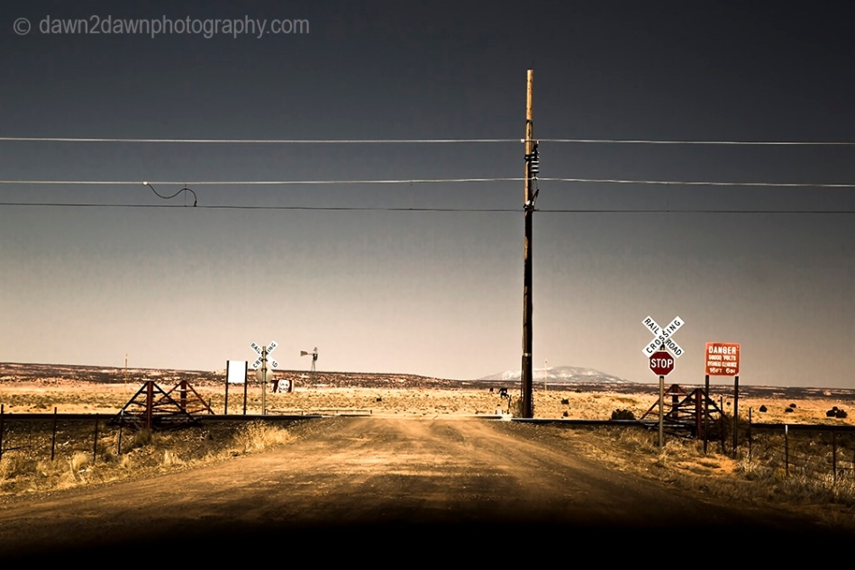 Arizona Railroad Crossing