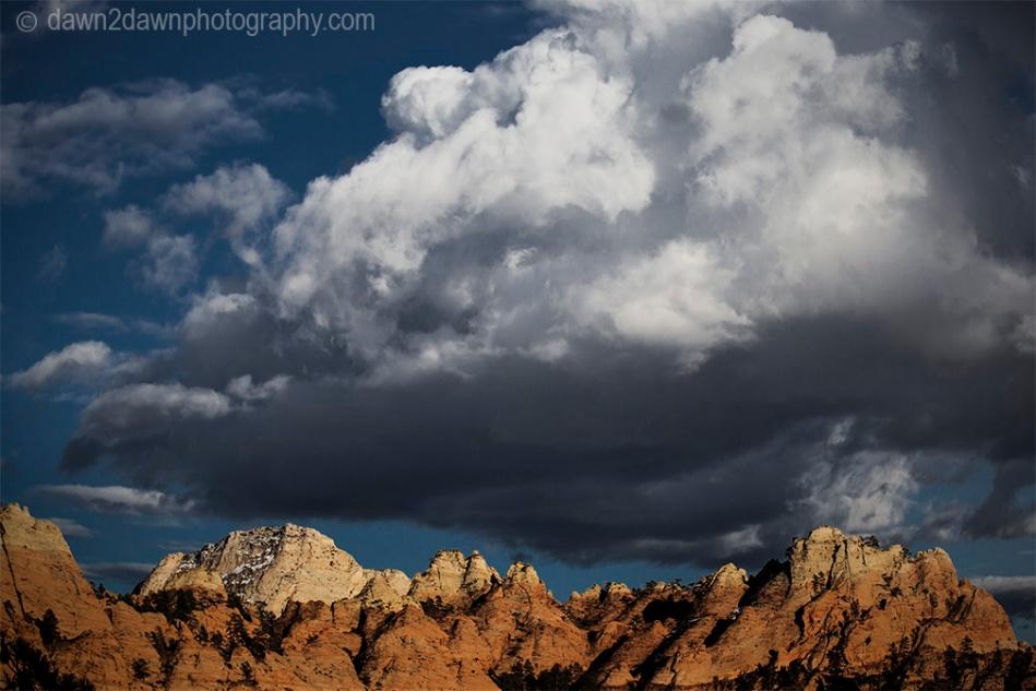 Zion Storm Clouds