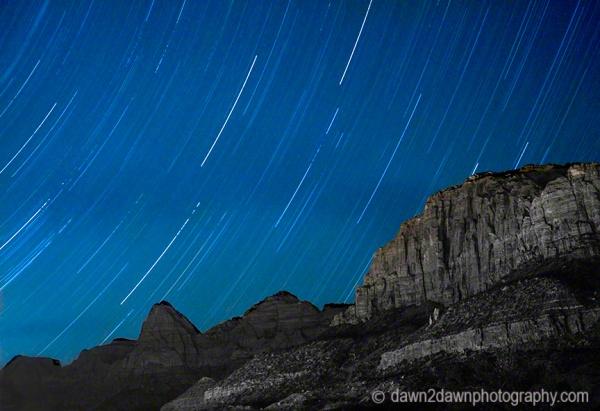 Zion Starry Night