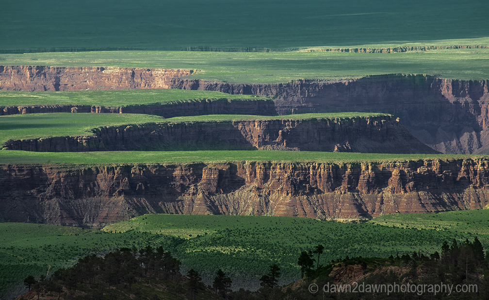 The Colorado River has carved Marble Canyon just before The Grand Canyon in Northern Arizona
