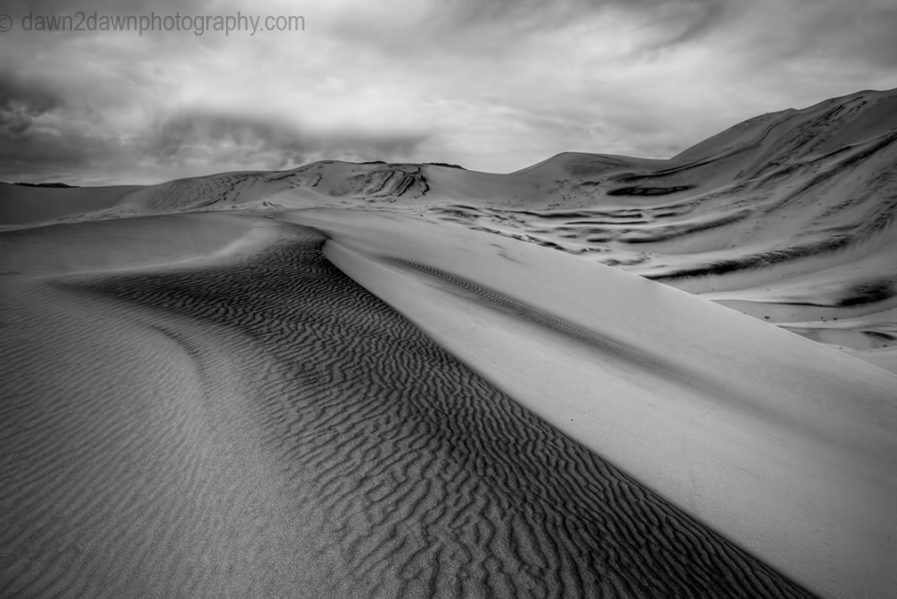 Death Valley's Eureka Dunes