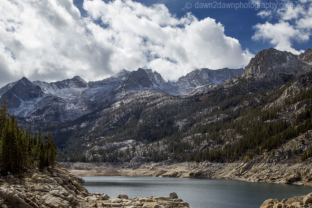 California's severe drought has dramatically affected South Lake near Bishop