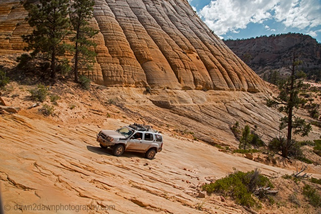 Four-Wheeling near Zion National Park, Utah