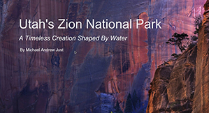Zion NP Book Cover