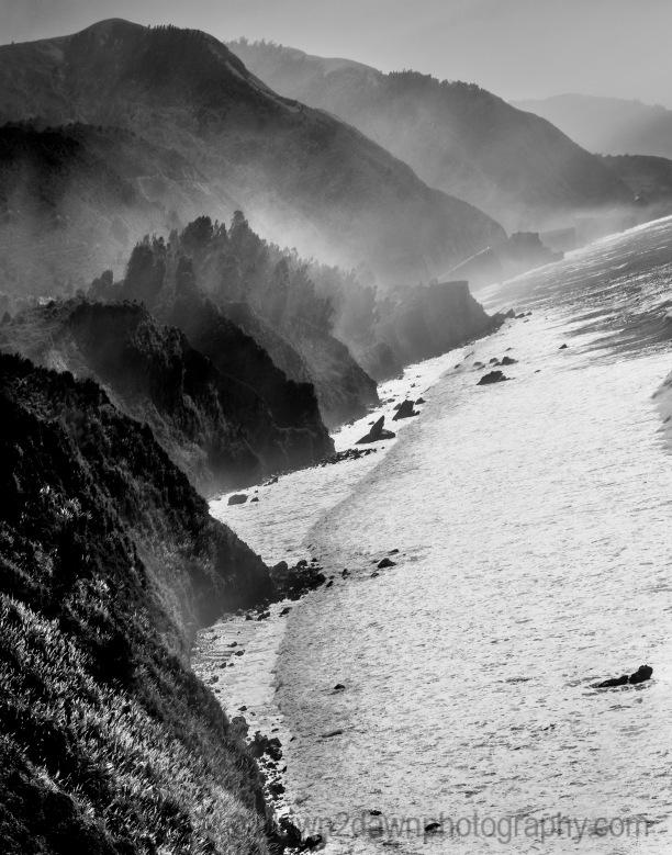 Cal Coast Fog BW_8422