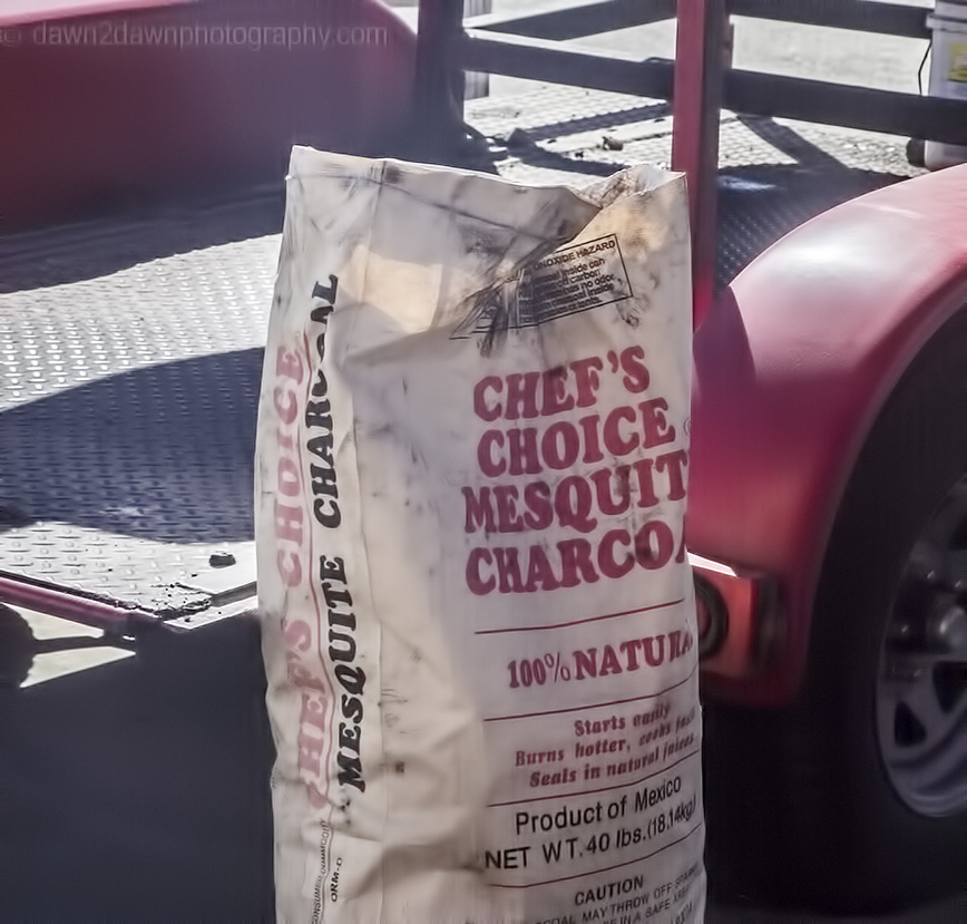 The secret charcoal is now revealed!