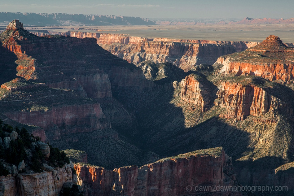 The Grand Canyon as seen from Cape Final