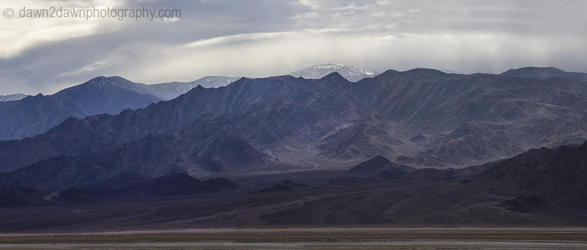 Cottonball Basin at Death Valley National Park, California