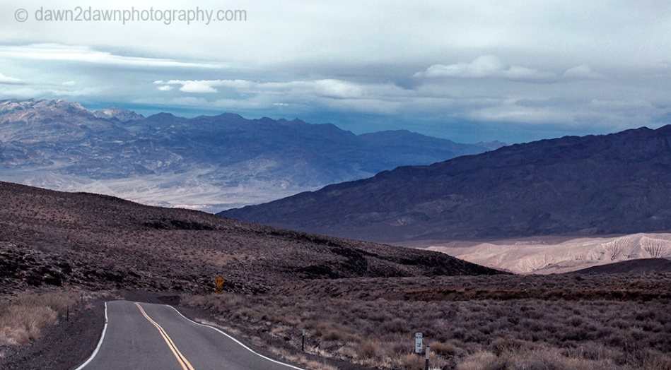 Wide Valleys and tall mountain peaks are the predominate features at Death Valley National Park, California