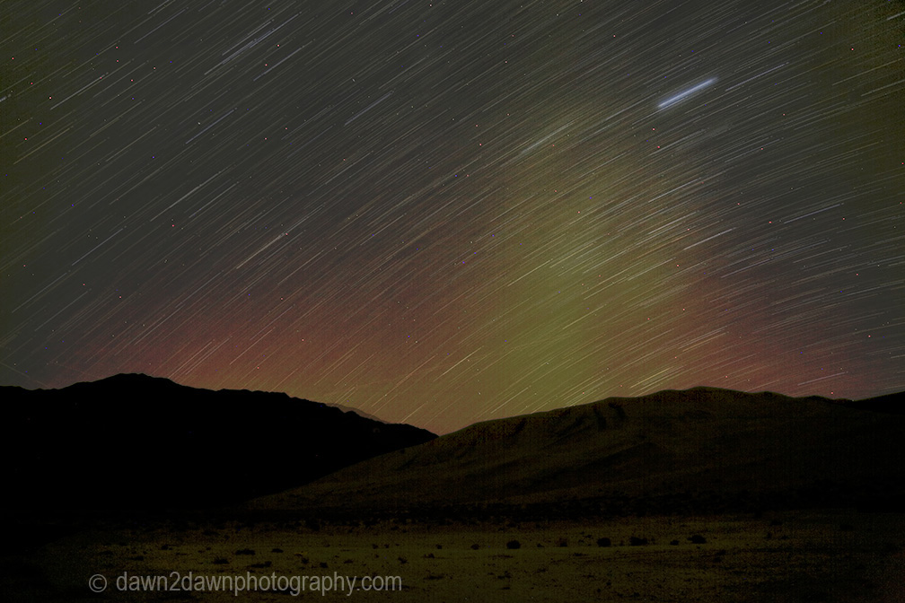 Death Valley Star Trails
