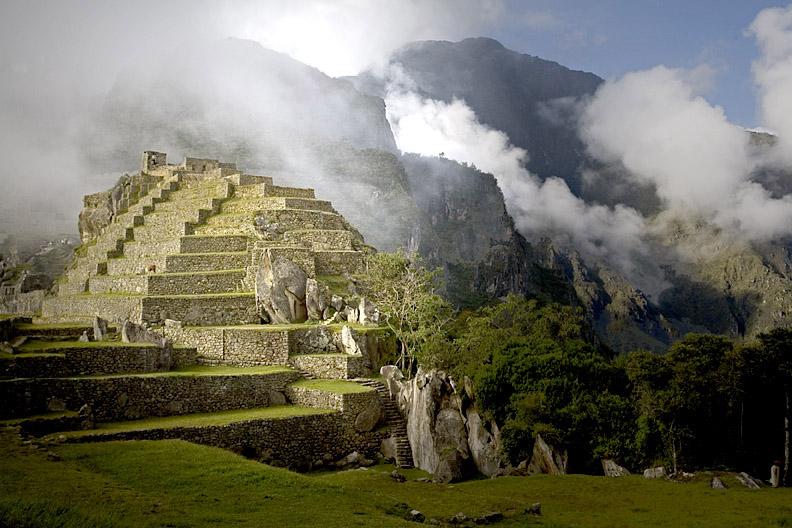 Reaching Machu Picchu