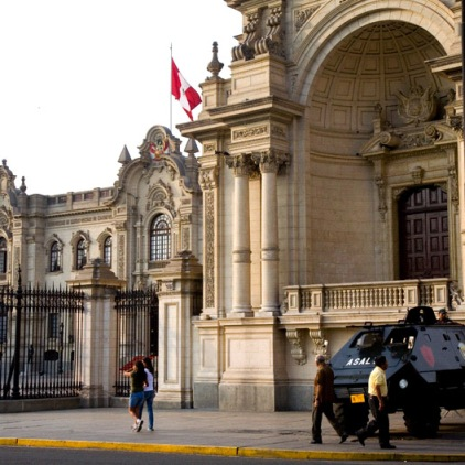 Armed Presidential Palace